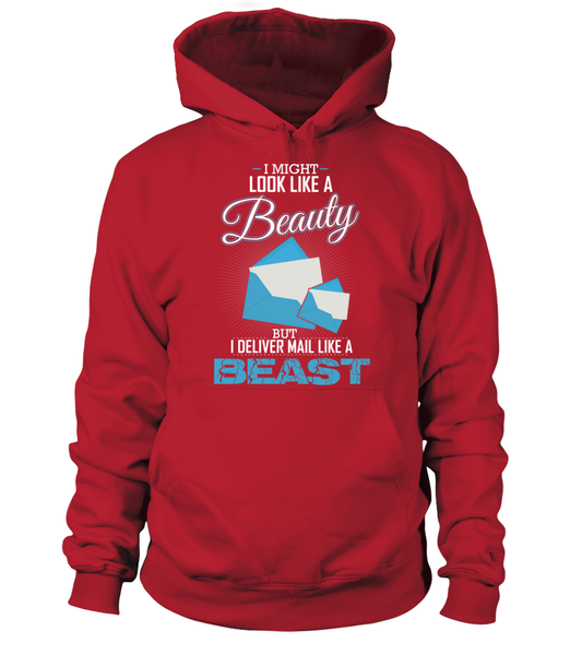 I Deliver Mail Like A Beast Shirt - Giggle Rich - 16