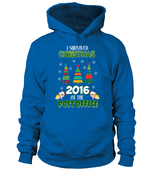 I Survived Christmas 2016 At The Post Office Shirt - Giggle Rich - 2