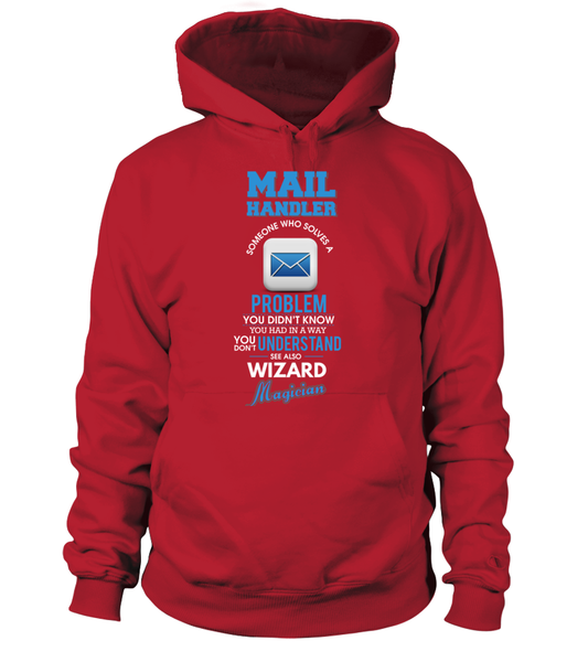 Mail Handler Solves Problems Shirt - Giggle Rich - 5