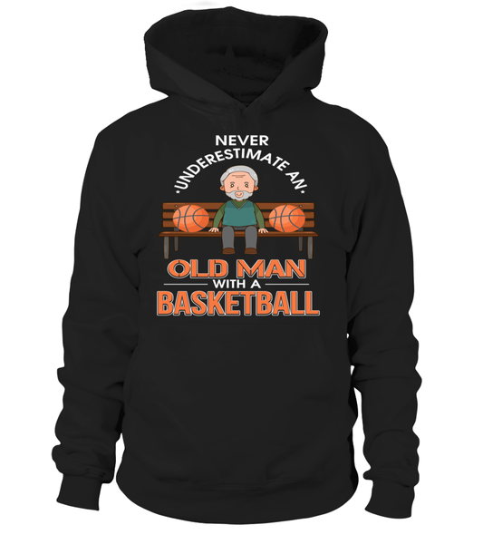 Never Underestimate An Old Man With A Basketball