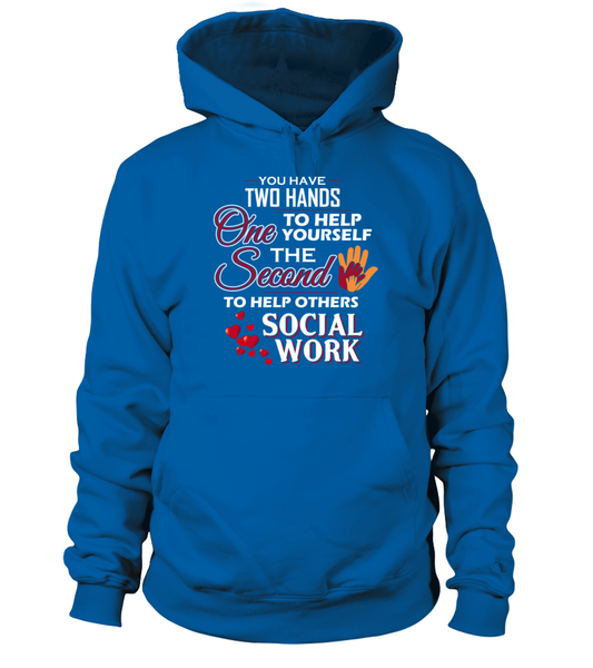 Social Worker Hands Shirt - Giggle Rich - 5
