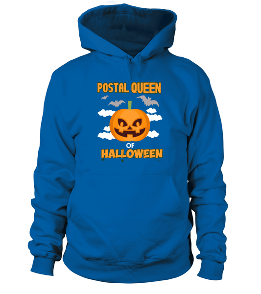 Postal Queen Of Halloween Shirt - Giggle Rich - 4