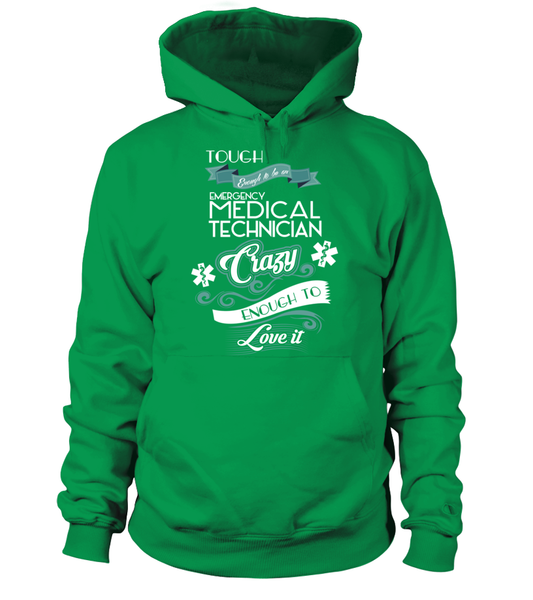 Tough Enough To Be An Emergency Medical Technician Shirt - Giggle Rich - 6