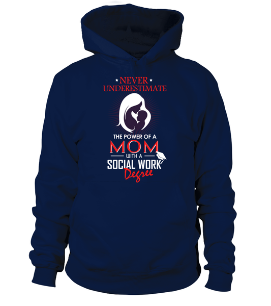 Mom With Social Work Degree Shirt - Giggle Rich - 3