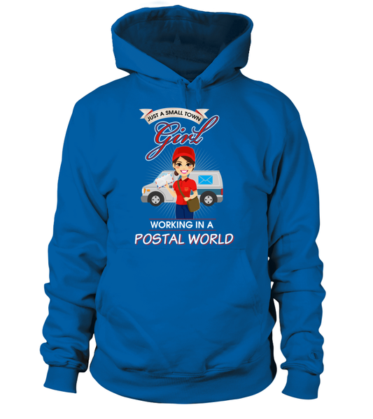 Small Town Girl Working In A Postal World Shirt - Giggle Rich - 5