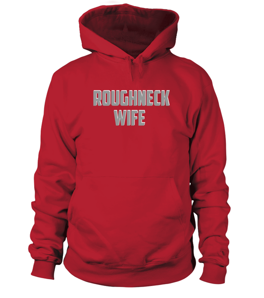 Roughneck Wife Waiting For Her Husband Shirt - Giggle Rich - 1