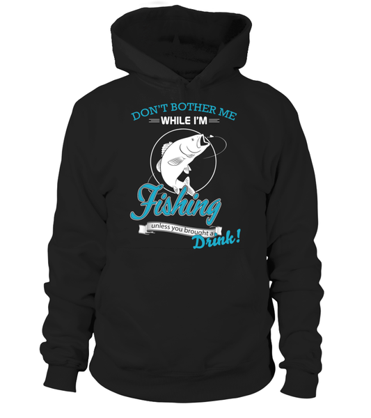 Don't Bother Me While I'm Fishing Shirt - Giggle Rich - 6