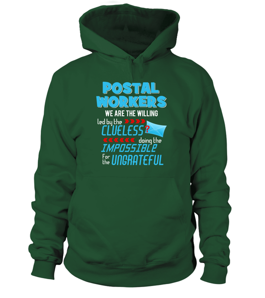 Postal Workers Doing The Impossible Shirt - Giggle Rich - 10