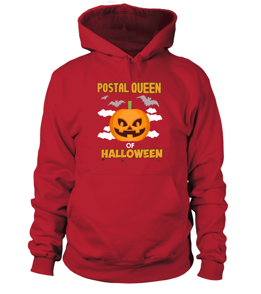 Postal Queen Of Halloween Shirt - Giggle Rich - 3