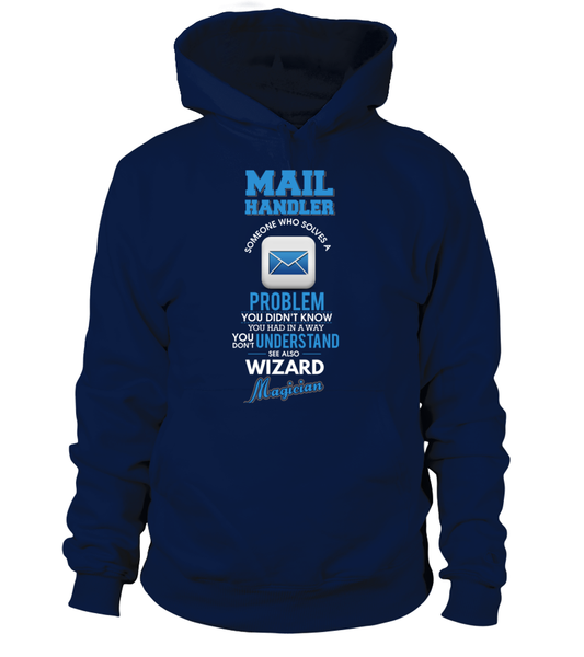 Mail Handler Solves Problems Shirt - Giggle Rich - 6