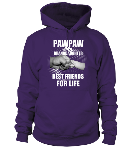PawPaw & Granddaughter Best Friends For Life Shirt - Giggle Rich - 2