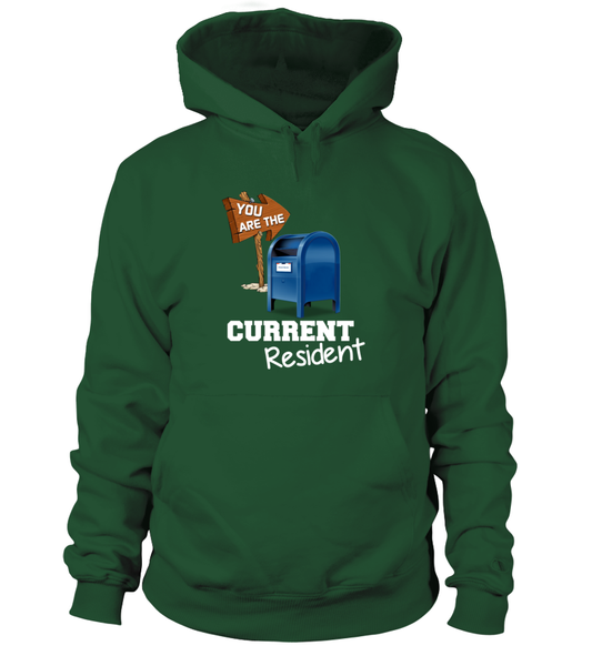 You Are The Current Resident - Postal Worker Shirt - Giggle Rich - 5