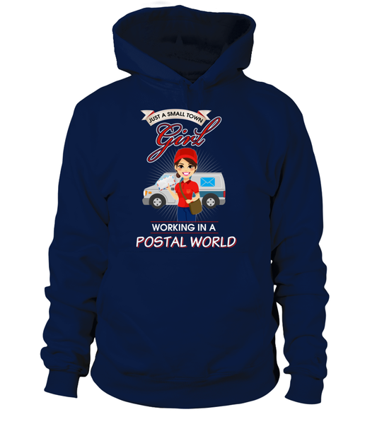 Small Town Girl Working In A Postal World Shirt - Giggle Rich - 6