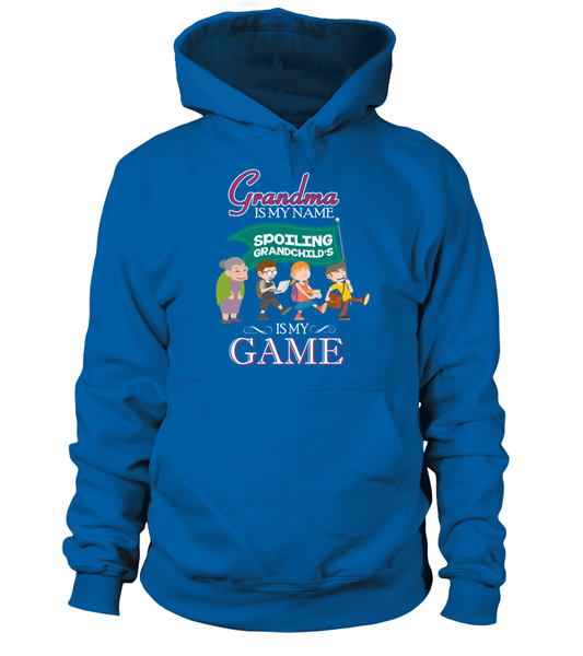 Grandma Is My Name And Spoiling Is My Game Shirt - Giggle Rich - 6