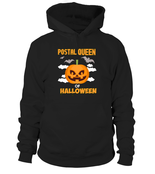 Postal Queen Of Halloween Shirt - Giggle Rich - 1