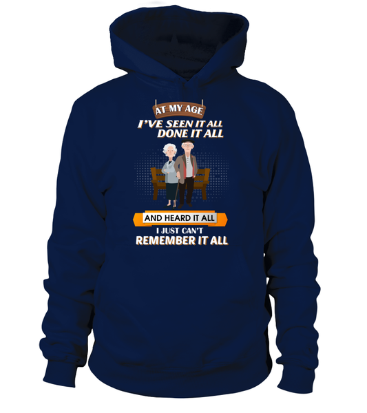 At My Age - I Just Can't Remember It All Shirt - Giggle Rich - 7