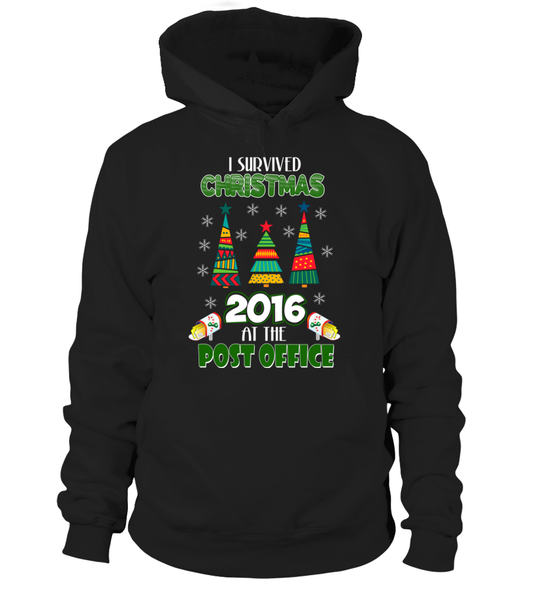 I Survived Christmas 2016 At The Post Office Shirt - Giggle Rich - 1