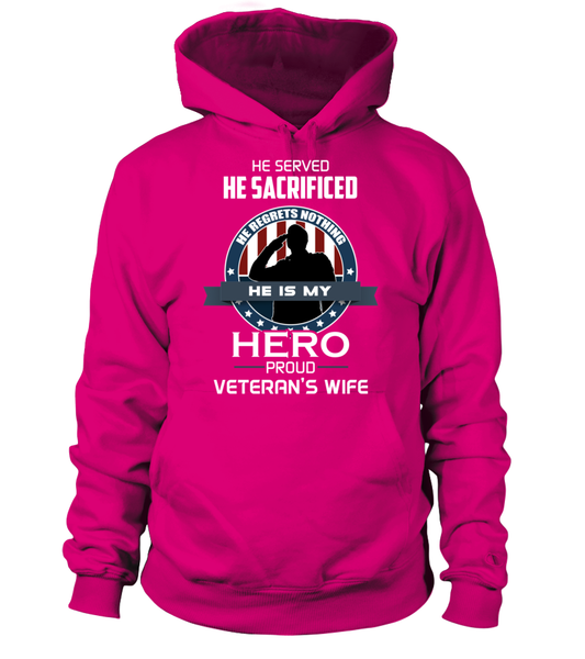 Proud Veterans Wife Shirt - Giggle Rich - 11