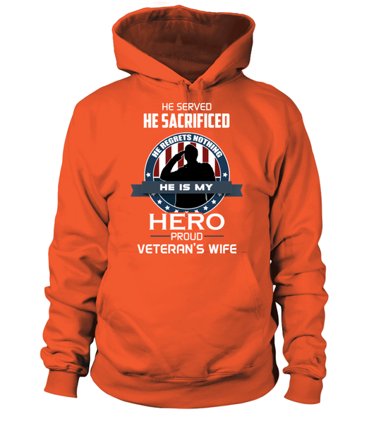 Proud Veterans Wife Shirt - Giggle Rich - 13