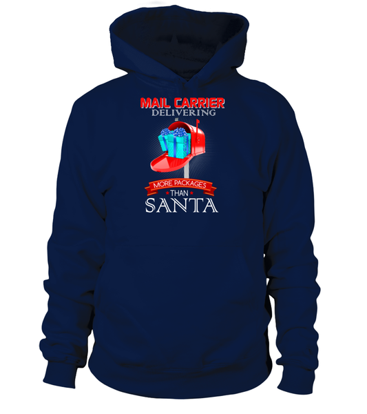 Mail Carriers Delivering More Packages Than Santa Shirt - Giggle Rich - 10