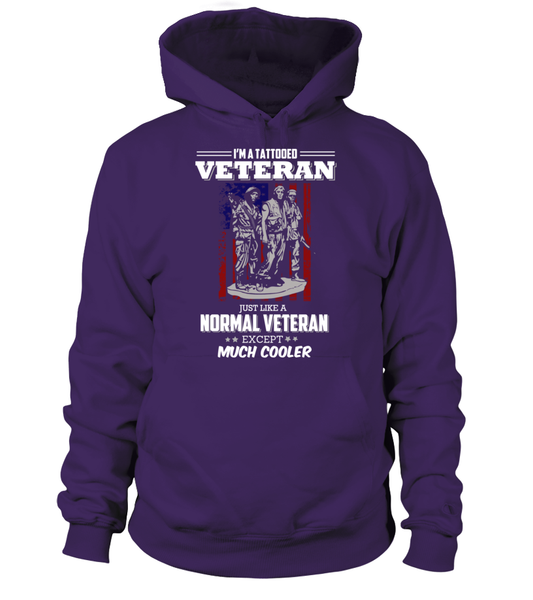 I'm Tattooed Veteran Shirt - Giggle Rich - 11