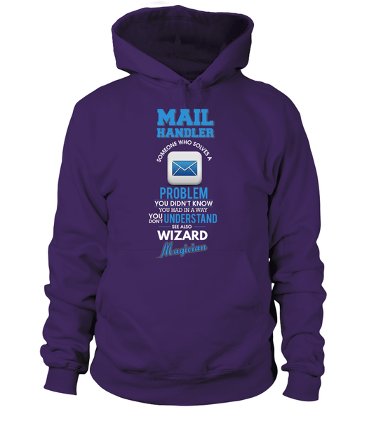 Mail Handler Solves Problems Shirt - Giggle Rich - 7
