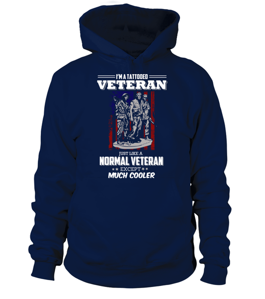 I'm Tattooed Veteran Shirt - Giggle Rich - 15