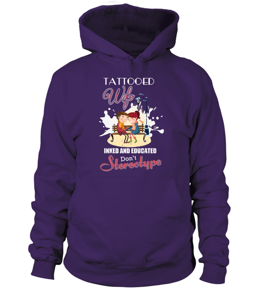 Tattooed Wife Inked And Educated Shirt - Giggle Rich - 5