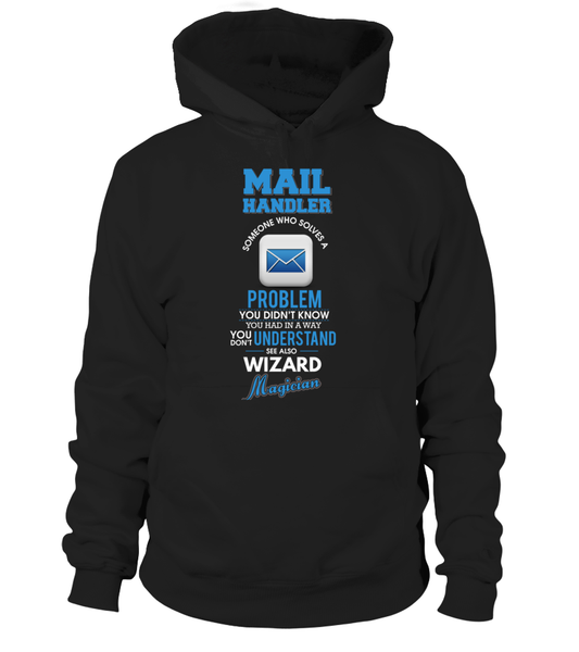 Mail Handler Solves Problems Shirt - Giggle Rich - 4