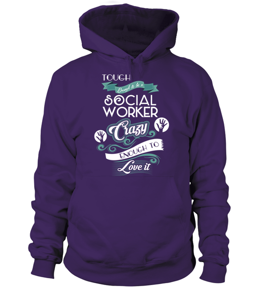 Tough Enough To Be A Social Worker Shirt - Giggle Rich - 4