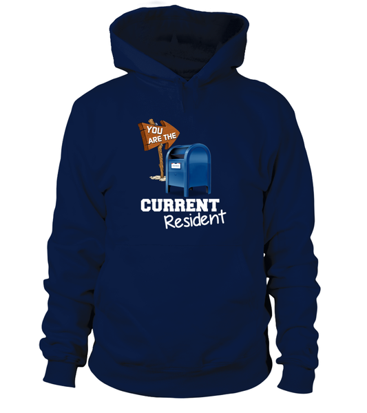 You Are The Current Resident - Postal Worker Shirt - Giggle Rich - 3
