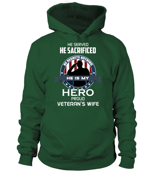 Proud Veterans Wife Shirt - Giggle Rich - 15