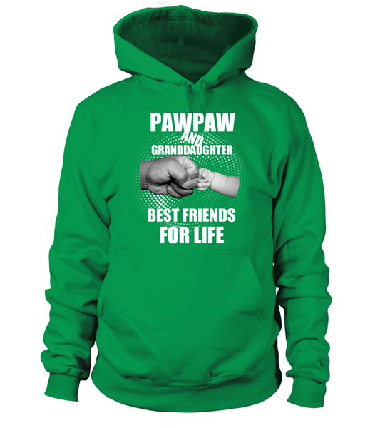 PawPaw & Granddaughter Best Friends For Life Shirt - Giggle Rich - 3