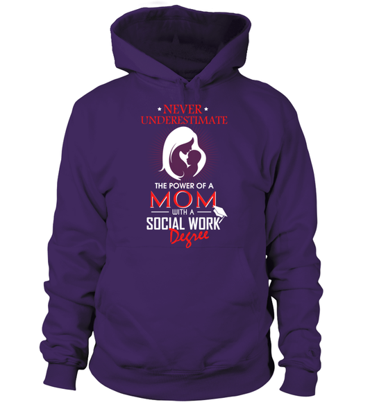Mom With Social Work Degree Shirt - Giggle Rich - 2