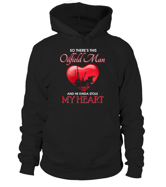 Oilfield Man Heart Shirt - Giggle Rich - 15