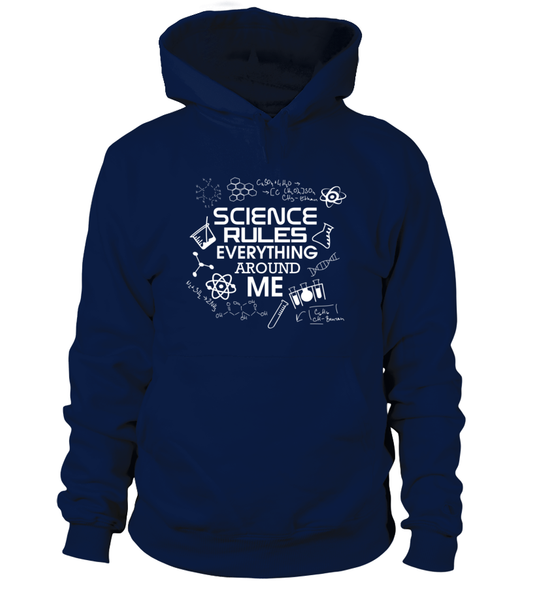 Science Rules Everything Around Me Shirt - Giggle Rich - 4
