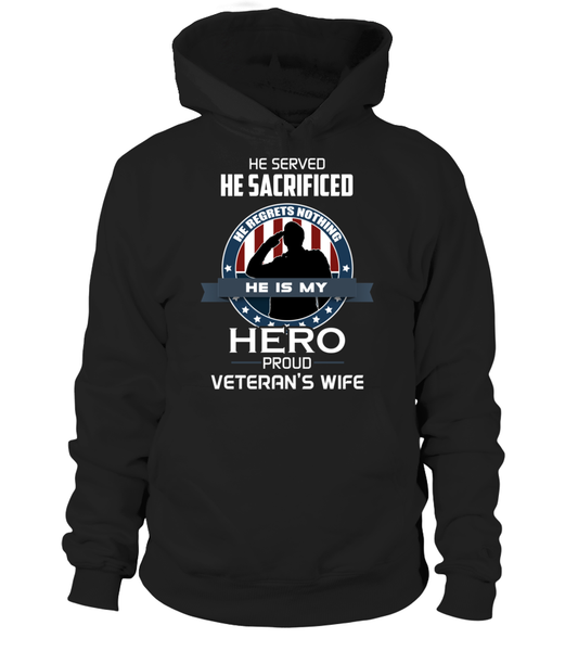 Proud Veterans Wife Shirt - Giggle Rich - 8