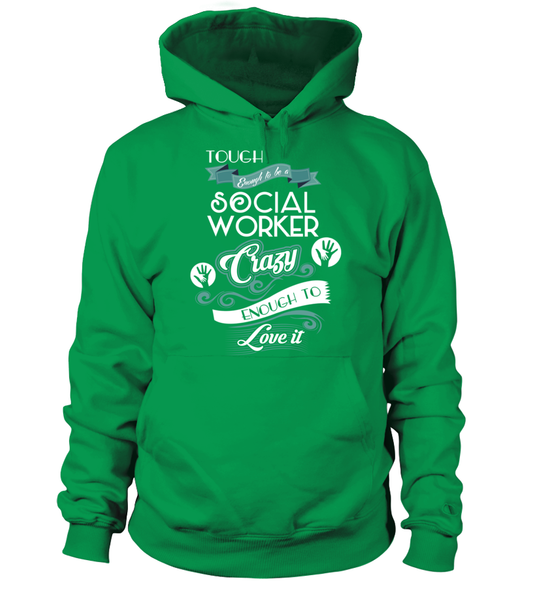 Tough Enough To Be A Social Worker Shirt - Giggle Rich - 6