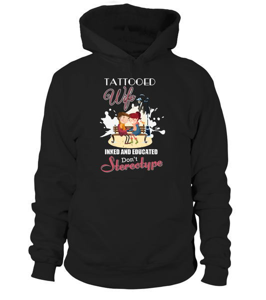 Tattooed Wife Inked And Educated Shirt - Giggle Rich - 9