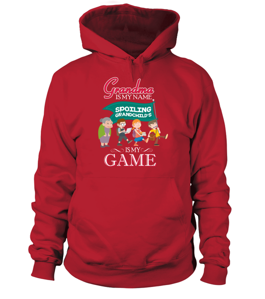 Grandma Is My Name And Spoiling Is My Game Shirt - Giggle Rich - 5