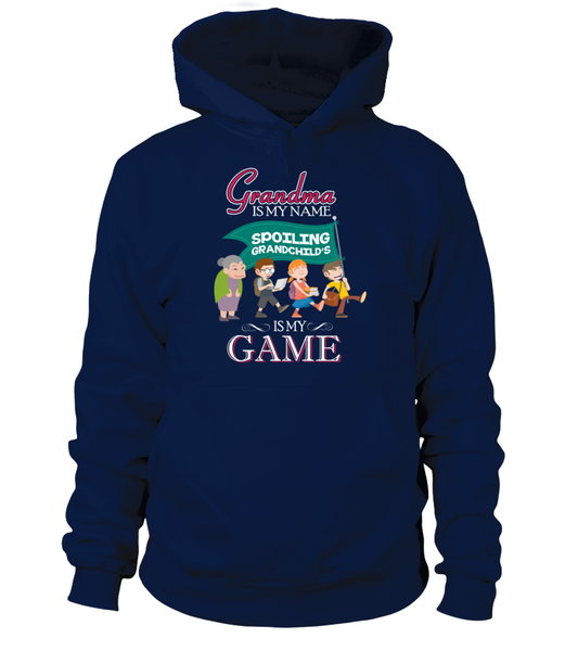 Grandma Is My Name And Spoiling Is My Game Shirt - Giggle Rich - 7