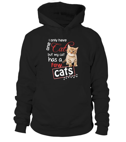 I Only Have One Cat Shirt - Giggle Rich - 9
