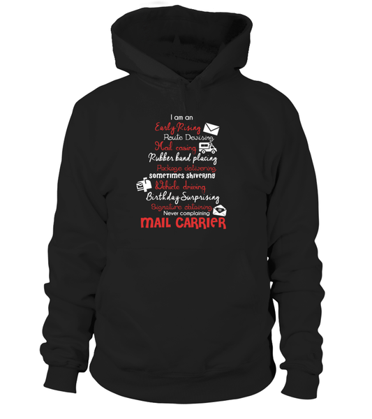 I Am An Early Rising Mail Carrier Shirt - Giggle Rich - 6