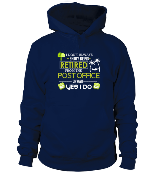 Enjoying Being Retired Postal Worker Shirt - Giggle Rich - 3