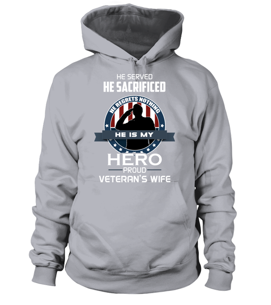 Proud Veterans Wife Shirt - Giggle Rich - 5
