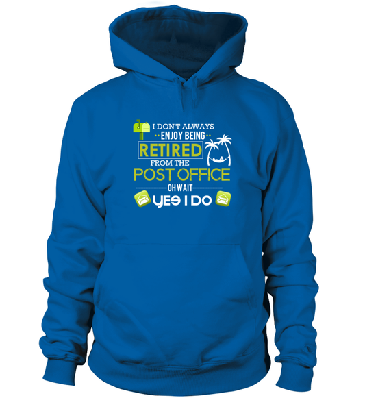 Enjoying Being Retired Postal Worker Shirt - Giggle Rich - 6
