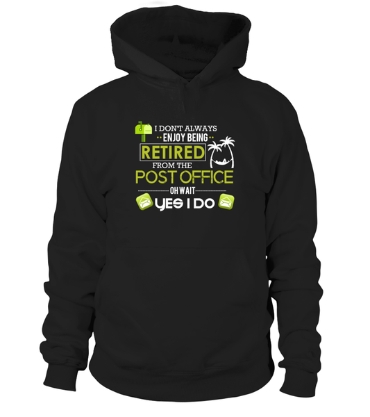Enjoying Being Retired Postal Worker Shirt - Giggle Rich - 1
