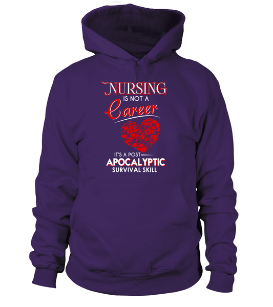 Nursing Is Not A Career Shirt - Giggle Rich - 4