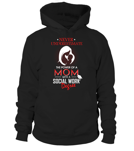 Mom With Social Work Degree Shirt - Giggle Rich - 1