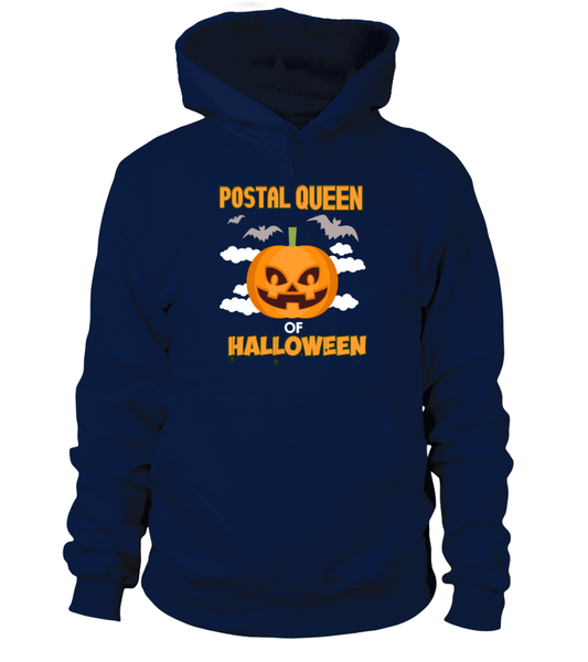 Postal Queen Of Halloween Shirt - Giggle Rich - 2